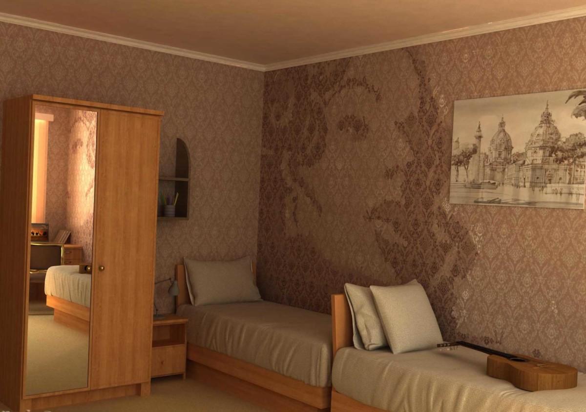 Фото дизайн комнаты в общаге