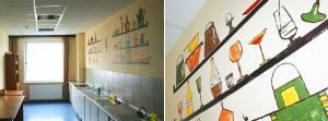 закончили ремонт кухни в нашем хостеле